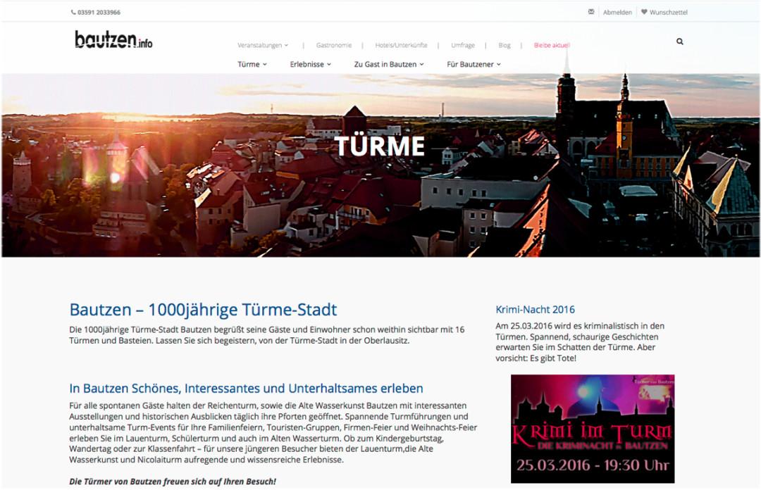 Launch bautzen.info Turm-Stadt-Bautzen